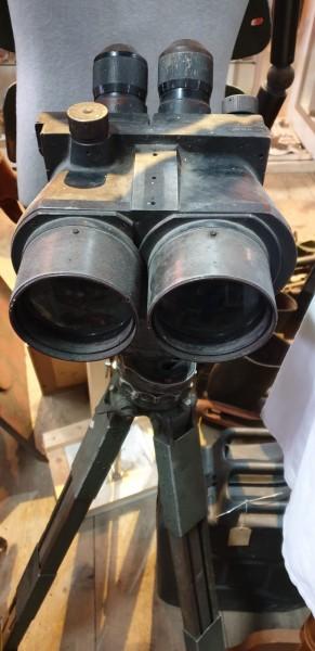 Wehrmacht Schweres Artilerie Fernglas mit Stativ