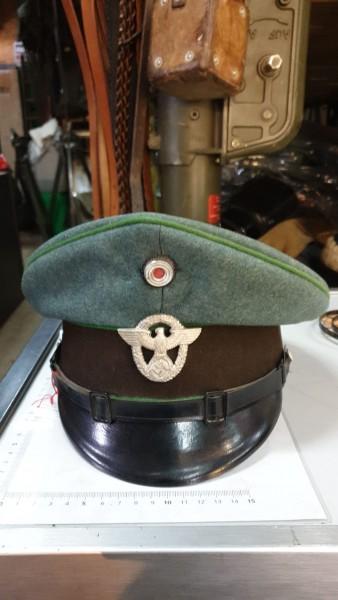Polizei Unteroffizers Mütze