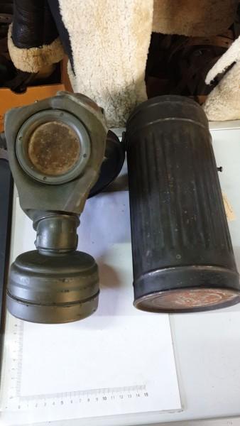 Gasmaske Wehrmacht gestempelt 41