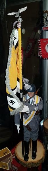 Puppe Luftwaffen-Standartenführer mit Original Schachtel - 55cm hoch