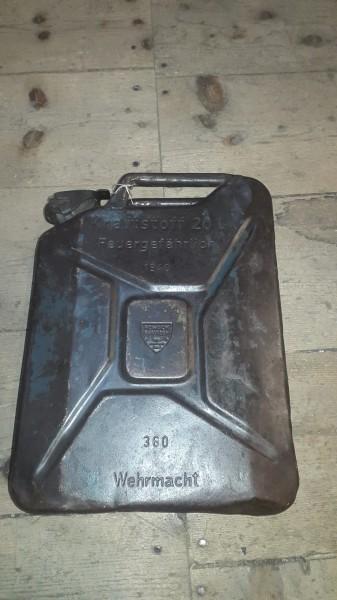 Treibstoffkanister Wehrmacht Top Stück 1940