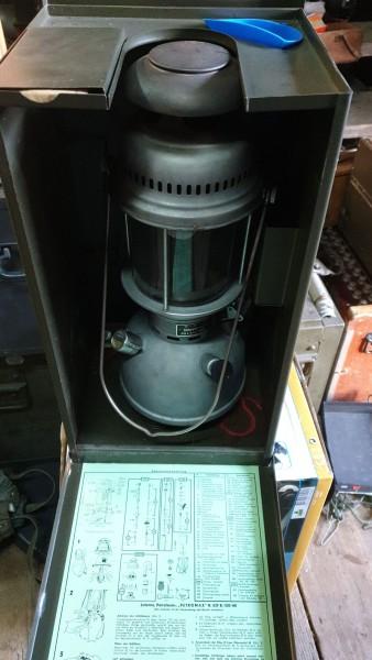 Petromax Altena Lampe in Kiste neuwertig