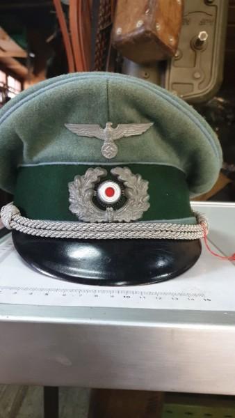 Transport Offiziers Mütze Top Zustand 3.Reich