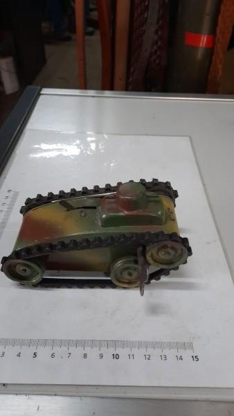 Blechpanzer Märklin 1910 mit Schlüssel
