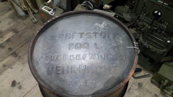 Wehrmachts Kraftstofffass 200l selten