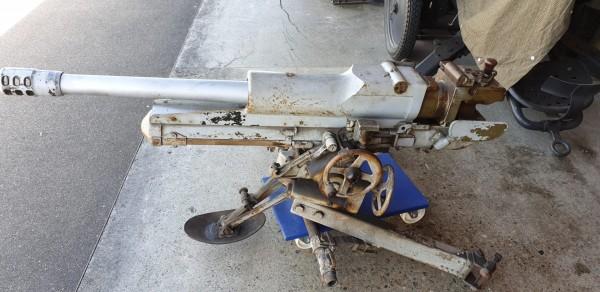 Verkauft-Bunkerkanone 4,7cm CH_Armee