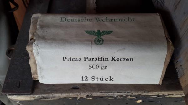 Orginal Wehrmachts Kerzen Parafin