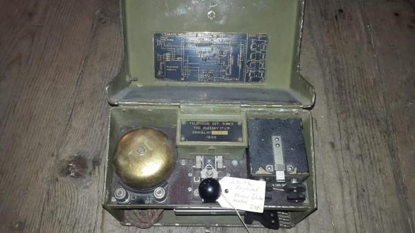 Feld Telefon 2.Weltkrieg England