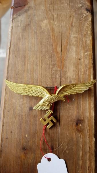 Original Luftwaffen Generalsadler der Ausgehuniform - Asman Herstellung