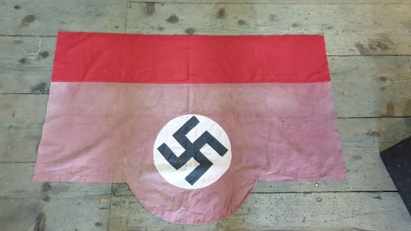 Orginal NSDAP Fahne vernäht 80 x 110cm