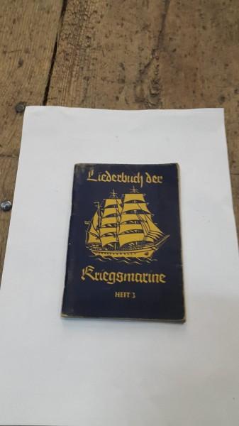 Liederbuch der Kriegsmarine