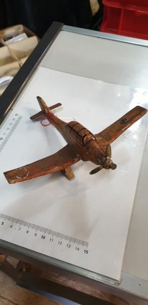 Orginal Kinderspielzeug Stuka aus dem 3.Reich stark bespielt / abgenutzt