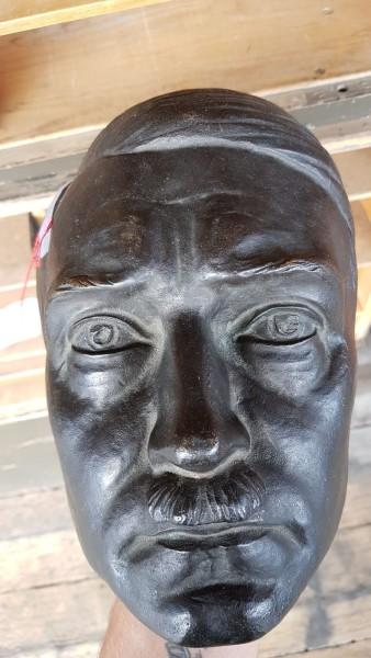 Original Bronze Adolf Hitler Maske