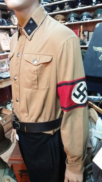 Orginal Frühe SS Hose Hemd und Armbinde