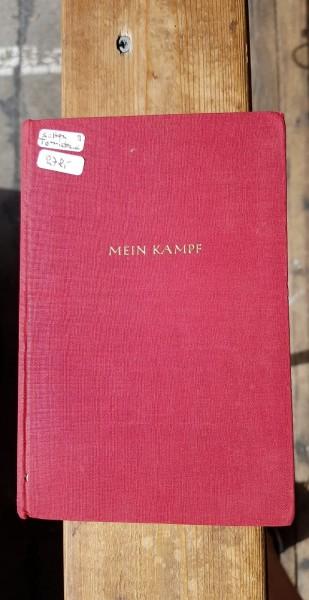 """Adolf Hitler """"Mein Kampf"""" - seltene Tornisterausgabe"""