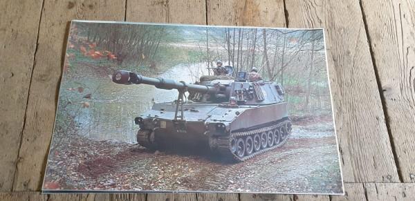 Panzerposter Panzer Haubitze