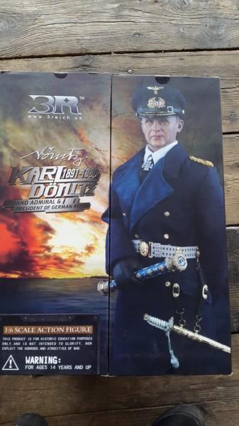 Puppe Admiral Karl Dönitz