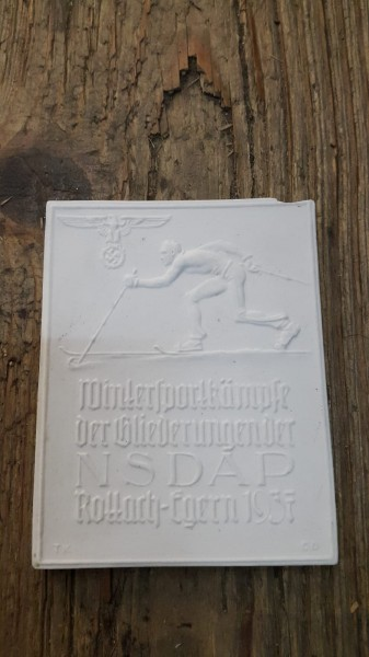 Auszeichnung Wintersportkämpfe NSDAP