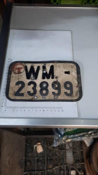 Orginal Autokennzeichen der Wehrmacht