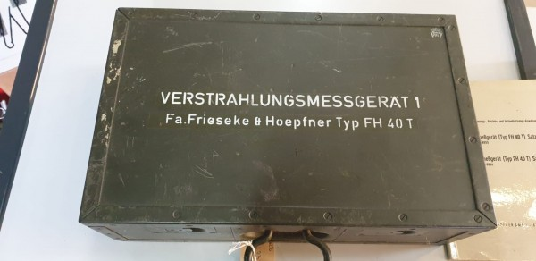Verstrahlungsmessgerät Typ FH 40 T