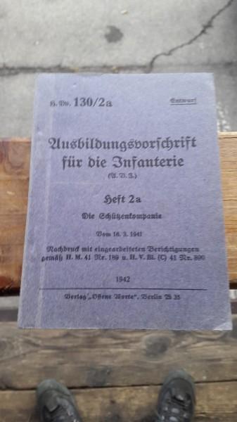 Ausbildungsvorschrift für die Infanterie