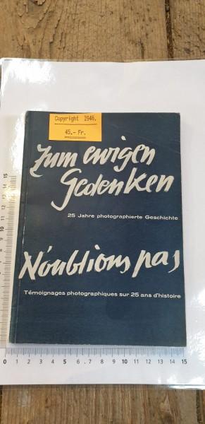 Zum ewigen Gedenken Copyright 1946
