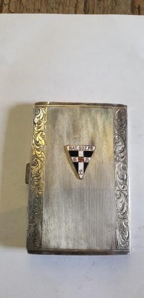 Frauenzigaretten Etuie 3.Reich aus Silber