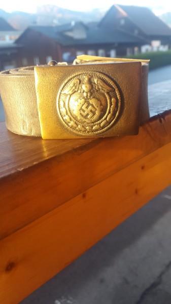 SA Koppel mit Riemen NSDAP Sympathie
