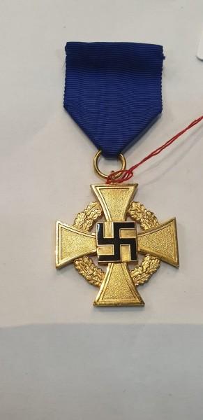Ehrenkreuz Treuedeinst in Gold