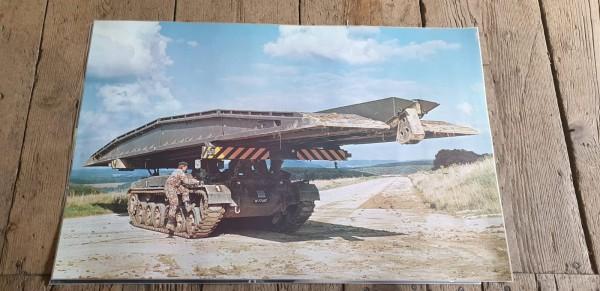 Panzerposter Brückenpanzer CH-Armee