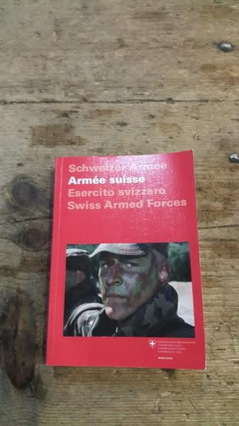 Taschenbuch Schweizerarmee französisch