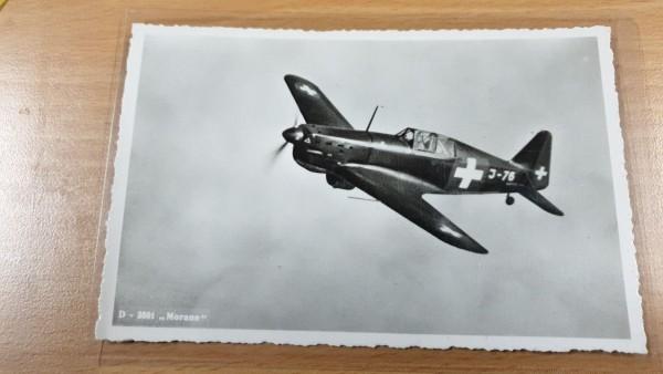 Postkarte CH-Luftwaffe Morane