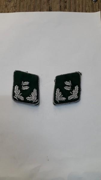 Forst Kragenspiegel Offizier