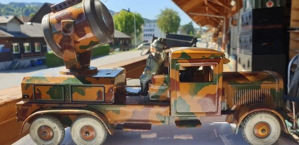 Wehrmachts Blechlastwagen mit Beleutungsscheinwerfer Top Zustand