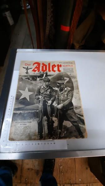 Heft Der Adler 1.November 1941