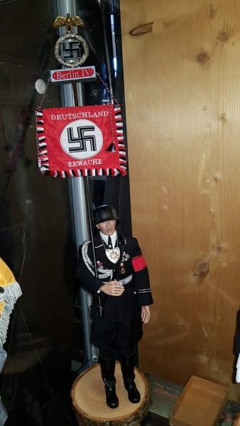 Puppe SS-Standartenführer mit Original Schachtel - 62cm hoch