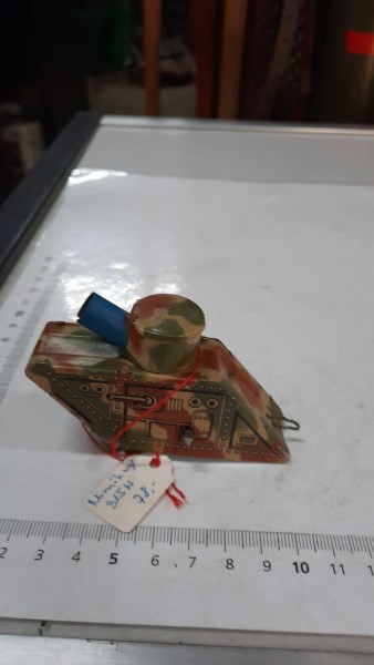Blechpanzer Mimikry ohne Schlüssel
