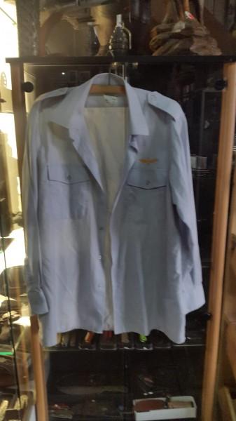 Schweizer Luftwaffen Hemd langarm Gr.42