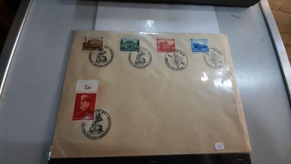 Briefumschlag mit Marken aus dem 3.Reich