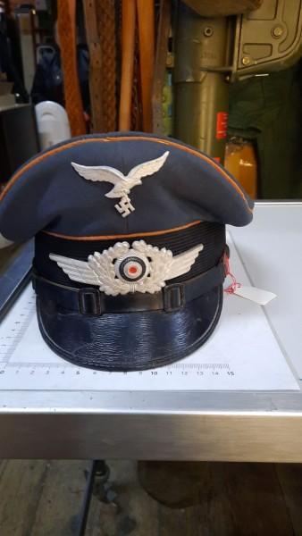 Luftwaffe Nachrichtenmütze Mannschaft Unteroffizier