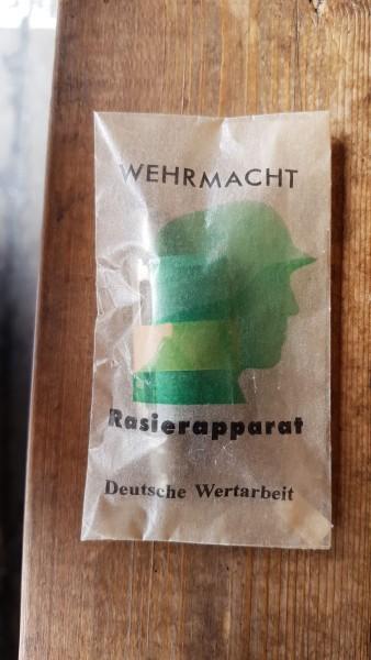 Original Wehrmacht Rasierapparat
