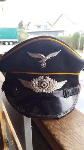 Orginal Luftwaffen Unteroffiziers Mütze