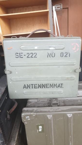 Zubehörkiste Antennenmaterial SE-222 leer
