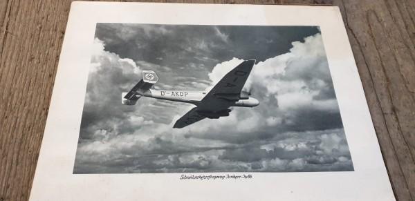 Bild Schnellverkehrsflugzeug Junkers JU86