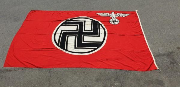 Handelsmarine Flagge Arsenalbestand neuwertig 3.Reich