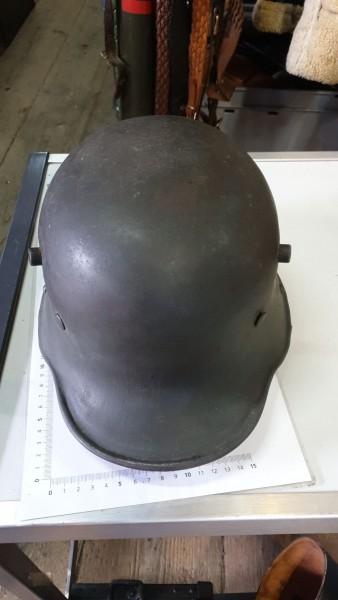 Orginal 1.Wk Helm wurde von der Wehrmacht