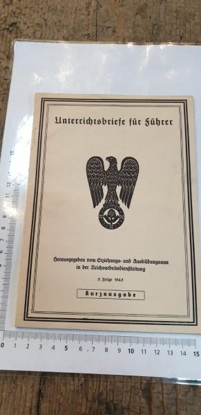 Unterrichtsbriefe für Führer