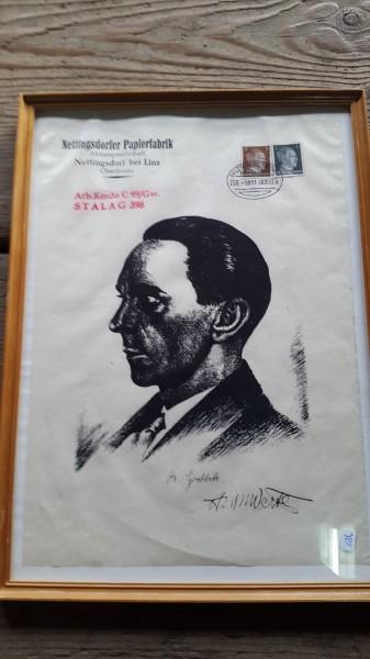 Bild Josef Göbels (Nachgerahmt)