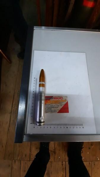 Flabgeschoss 20mm Manipulir CH-Armee Inerte